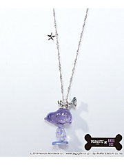 <ANNA SUI><PEANUTS×ANNA SUI>スヌーピーモチーフネックレス