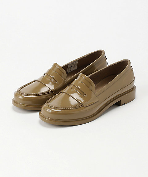 <HUNTER>レインシューズ ORIGINAL PENNY LOAFER(WFF1006RGL)