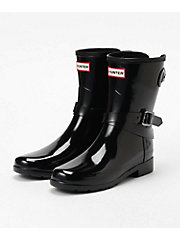 <HUNTER> ORIGINAL REFIND ADJUSTABLE SHORT GLOSS BOOT(WFS2008RGL)