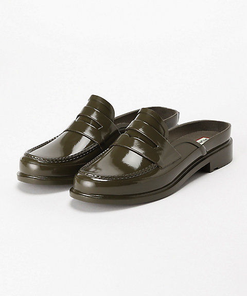 <HUNTER>ORIGINAL BKLESS GLOSS PENNY LOAFER(WFF1060RGL)