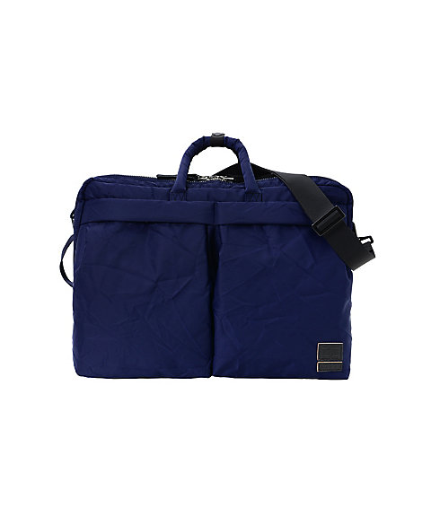 <MARNI×PORTER>バッグ 3WAY BRIEF CASE BL