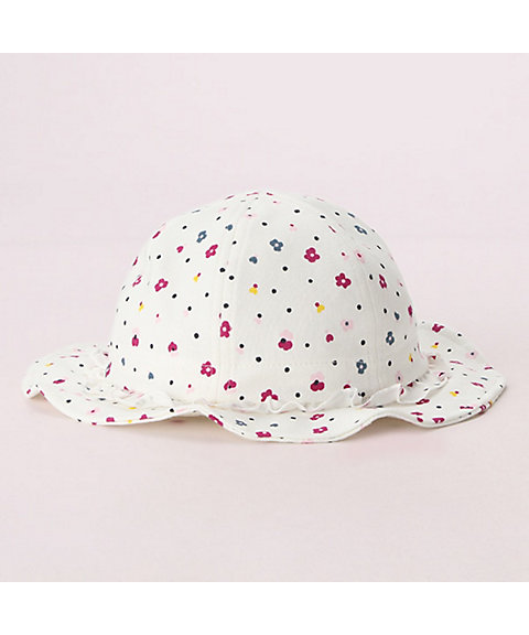 <KATE SPADE NEW YORK CHILDREN´S WEAR> レイエット ミニ フローラ ドット ハット(8592575)