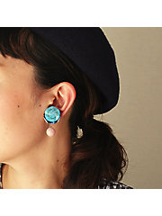 <patterie>BUTTON SPANGLE PIERCE(PR17SS-AC-P001193-P)