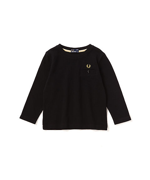 <FRED PERRY> ピケロングスリーブTシャツ(FY1004)