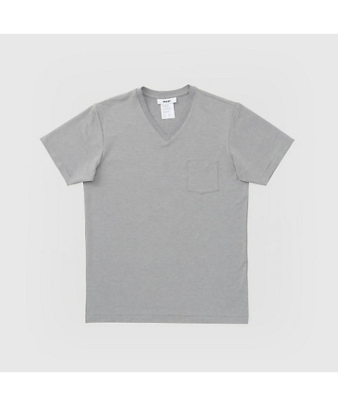 <MXP> Fine Dry Short Sleeve Pocket V‐Neck(MX16104)