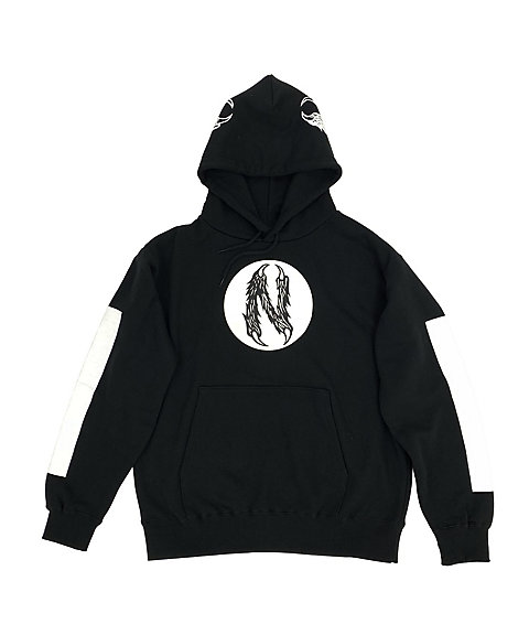 <IN THE HOUSE> <NUT BUTTER>×<IN THE HOUSE>HOODIE(MENS)