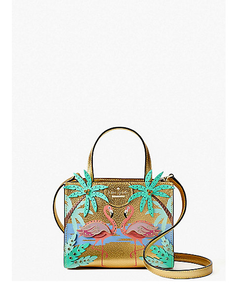 <kate spade new york>BY THE POOL FLAMINGO SCENE SMALL SAM(PXRU8943)