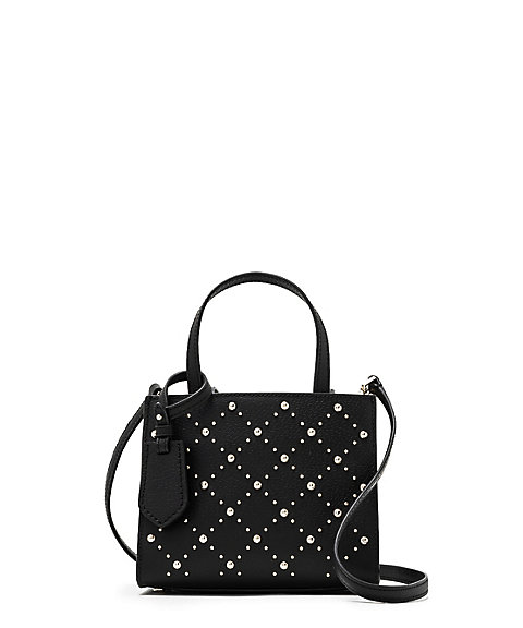 <kate spade new york>THOMPSON STREET STUDDED SMALL SAM(PXRU9089)