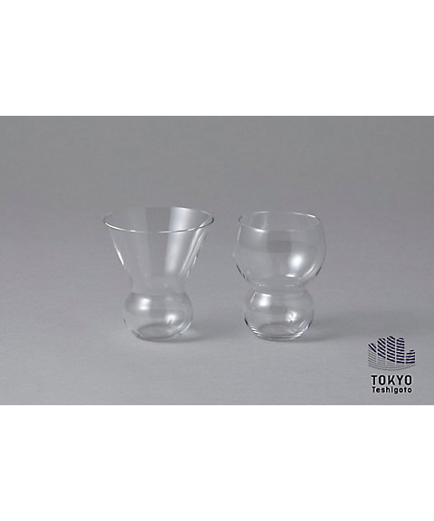 <KIMOTO GLASS TOKYO> Rondes ペアグラスセット