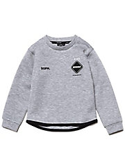 <F.C.Real Bristol>スウェット FCRB-K190007 CREW NECK SWEAT