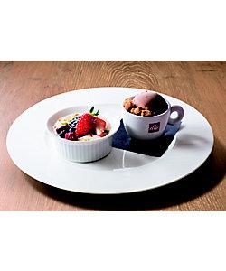 【イートイン】ロイヤルミルクティープリン&ショコラアイス