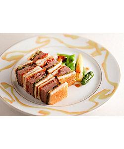 【イートイン】和牛フィレ肉のサンドウィッチ