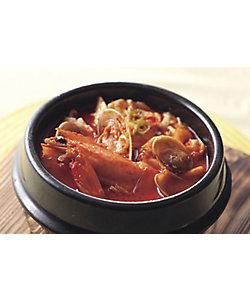 【イートイン】魚介の純豆腐チゲ