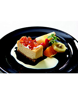 ラッテ チャノママ/ラッテ チャノママ 【イートイン/新宿 本館6階】チーズケーキ アールグレイのクリスタルそのとき美味しい果実添え