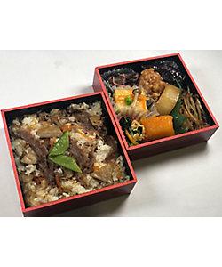 まつおか/マツオカ 【新宿】国産牛ごぼうご飯二段弁当