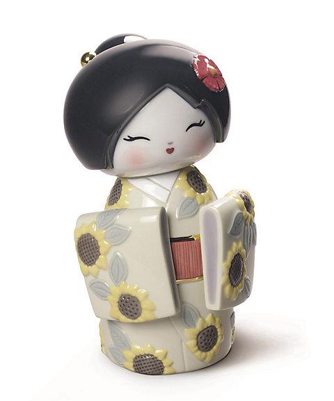 三越・伊勢丹オンラインストア<リヤドロ/LLADRO> こけし(Sunflower) 【三越・伊勢丹/公式】