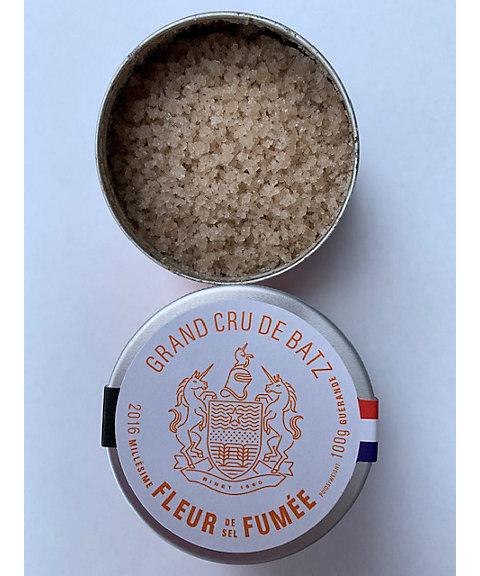 ★バッツの塩 グラン クリュ フルール ド セル フュメ(燻製)【三越・伊勢丹/公式】