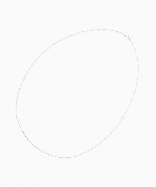 <ILEANA MAKRI(Women)/イレアナ・マクリ> クラシッククロス チャーム ツァボライトガーネット専用 ホワイトゴールドチェーン【三越伊勢丹/公式】