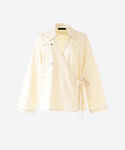 KOTONA(Women)/コトナ stripe open shirt
