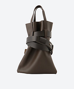 14 Cow Leather Belted Bag SA