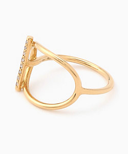 MONAKA jewellery(Women)/モナカ Mantel Bar Diamond Ring リング