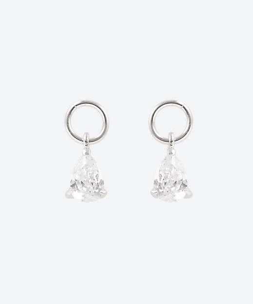 <AYAMI Jewelry(Women)/アヤミ ジュエリー> ペアシェイプストーンイヤーチャーム【三越伊勢丹/公式】