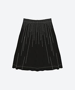 ウエストタックのスカート<C&Sオリジナル プレミアムハーフリネン>