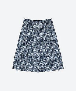 ウエストタックのスカート<C&S オリジナルリバティ>