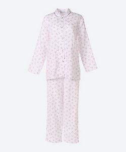 ★<三峰>二重ガーゼチェリー柄パジャマ(2102501)