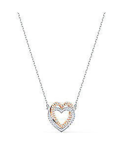 SWAROVSKI(Women)/スワロフスキー SWA INFINITY:NECKLACE DBL H CRY/CZWH/MIX ネックレス