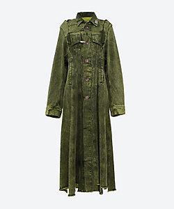 MIHARAYASUHIRO(Women)/ミハラヤスヒロ Resize denim coat