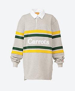 Carrots/キャロッツ ストライプラグビーシャツ