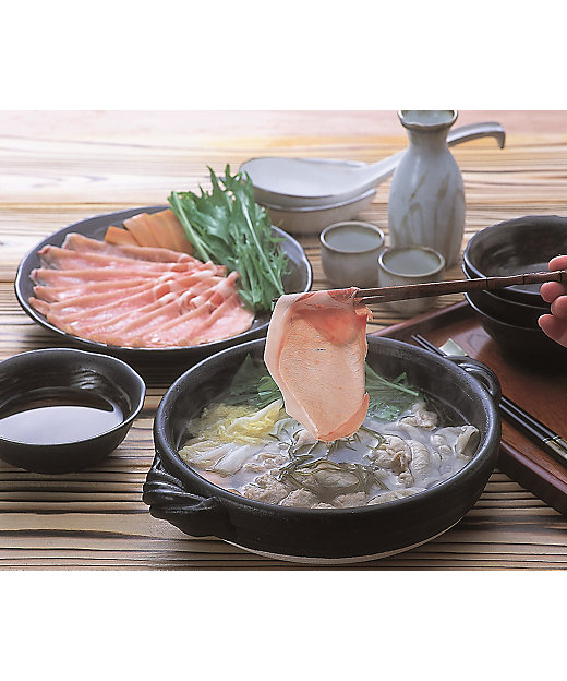 ★【産直】金華豚・三元豚 合盛りしゃぶしゃぶセット