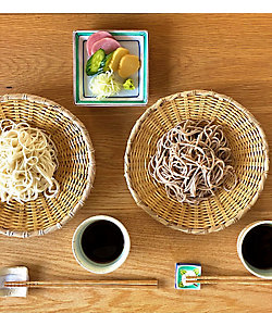 山形<そば処庄司屋>/ソバドコロショウジヤ ★【産直】そば処庄司屋の乾麺とそばつゆ詰合せ