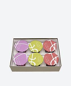 京都<笹屋昌園>/ササヤショウエン ★【産直】6個入 わらびあつめ(和三盆、こしあん、抹茶)