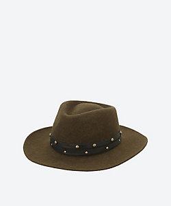 SENSI STUDIO/センシスタジオ センシスタジオ Alpaca with Leather帽子