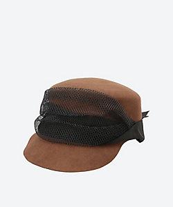 SENSI STUDIO/センシスタジオ センシスタジオ grosgrain & tulle帽子