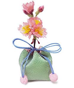 京都<山田松香木店>/ヤマダマツコウボクテン ★花挿袋(はなかざしぶくろ) 桜