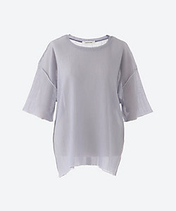 DOMENICO+SAVIO(Women)/ドメニコアンドサヴィオ sheer t-shirt