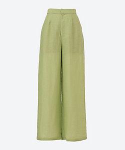 DOMENICO+SAVIO(Women)/ドメニコアンドサヴィオ sheer wide pants