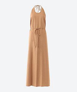 BASERANGE(Women)/ベースレンジ Apron Dress - Raw Silk