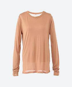 BASERANGE(Women)/ベースレンジ Long Sleeve Tee-Bamboo jersey