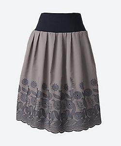 アミスインポータント/アミスインポータント ★ウエストリブ刺繍柄スカート(AK-020717-WJ-7)