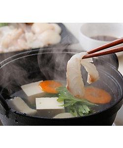 長崎<よか魚>/ヨカサカナ ★【産直】天然クエと真鯛のしゃぶしゃぶ
