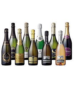 07.世界の辛口スパークリングワイン飲みくらべ10本セット