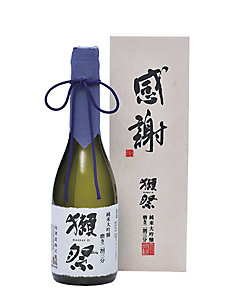 【父の日】<旭酒造>獺祭 純米大吟醸 磨き二割三分(感謝木箱入り)