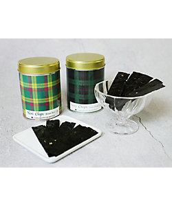 山本海苔店/ヤマモトノリテン 限定のりチップス2缶セット(マクミラン/ブラックウオッチ)