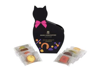 アンリ・シャルパンティエの 黒猫のプティ・ガトー・アソルティ