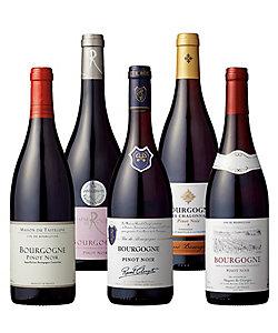 31.フランス・ブルゴーニュ地方生産者別ピノ・ノワール赤ワイン5本セット