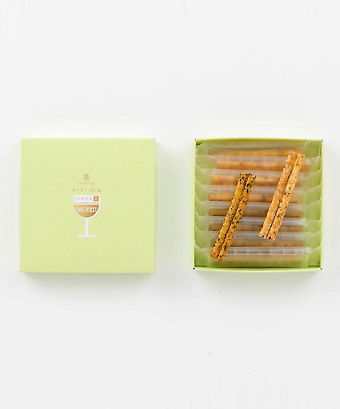 <十火 JUKKA> カーブドッチ アソート摘(チーズ・バジル)(和菓子)【三越・伊勢丹/公式】